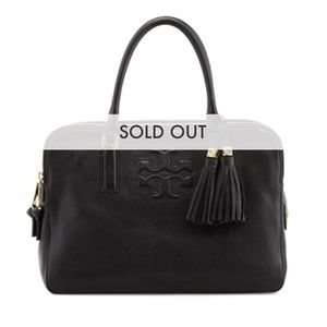 Tory Burch Thea Triple Zip Satchel Bag